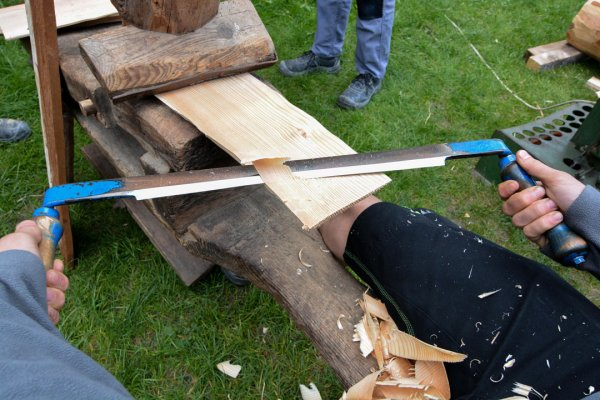 Schloss Trautson Holzbearbeitung